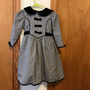 Girls Victorian Style Dress